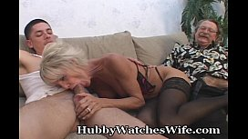 Mature Swinger Shared With...