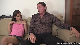 Czech teen seduces old...