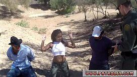 Mexican patrol Horny border patrol plows Latin lady Loni Legend in