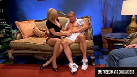 Holly Sampson Seduces Two...