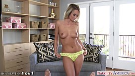 Sexy housewife Emily Austin...