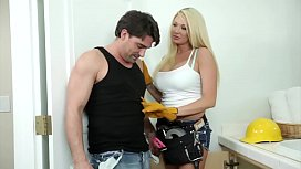 Summer Brielle naughty plumber...