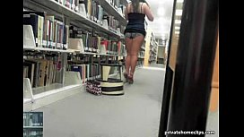 Cute library girl...
