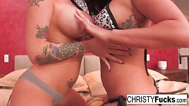 Christy Mack and London...