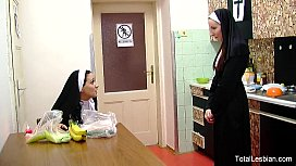 Hot Nuns Love To...