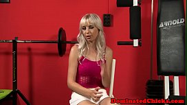 Anally pounded beauty submits...