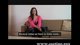 Casting Huge facial for...