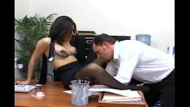 Office sex with a...