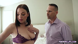 Mature stepmom saving her marriage with threesome fuck
