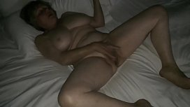 Mom masturbating to hotel...