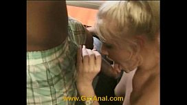Amateur blond does 1st...