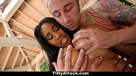 TittyAttack - Hot Ebony Has...