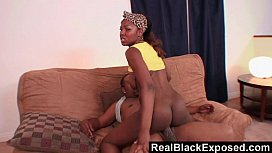 RealBlackExposed - His Mutant Cock...
