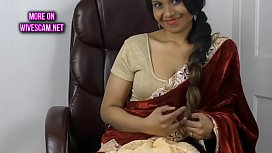 Horny south indian sister in law roleplay in tamil with masturbation