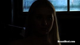 Disappeared On Arrival 2: Locked Blonde Slave In Thongs Masturbates xxx image