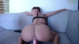 Thick Pawg Teen Rides Dildo