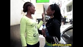 African lesbians licking shaved...
