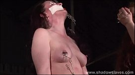 Cruel nipple torments and...