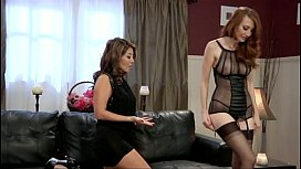 Lesbian Kendra James and...