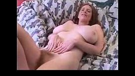 Busty MILF Hairy Pussy Masturbating on Webcam