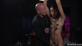 Master first time bangs small tits slave
