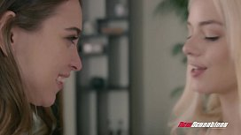Riley Reid &amp_ Elsa Jean It Started With A Kiss