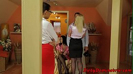 Glamcore mistress gets her...