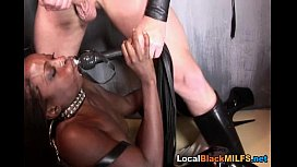 Hot Ebony Babe Dominated...