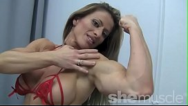 Sexy Female Bodybuilder Maria...