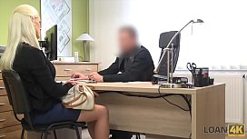 LOAN4K. Gorgeous blonde with...