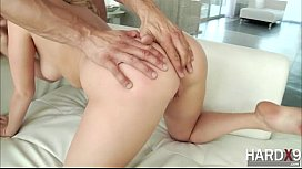 Super hot blonde Mia gets ass fucked by her guy Danny