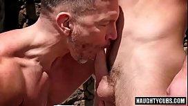 Hot Daddy bear fucks...