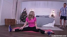 Yoga Christmas fucking with...