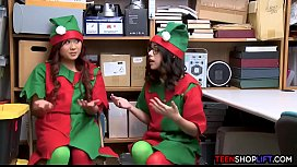 Santas little helpers are not so innocent as they look