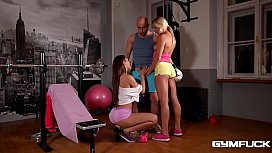 Gym Threesome of the...
