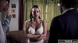 PURE TABOO Struggling Actress Abigail Mac Pressured Into 3-Way at Casting