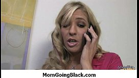 Mom going black - hard interracial porn 31