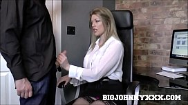 Hot British Boss Milf...