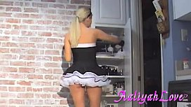 Aaliyah Love French Maid...