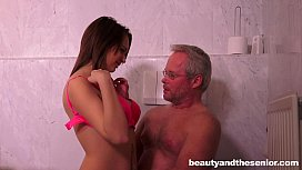 Teen Emily gets nailed...