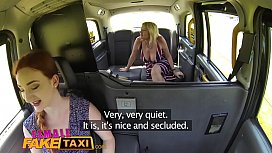 Female Fake Taxi Blonde...