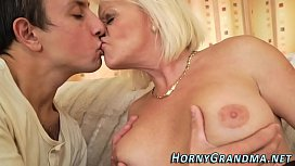 Juggs granny jizz mouthed...