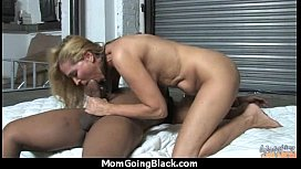 Beautiful mom with puffy pussy fuck a black dick 7