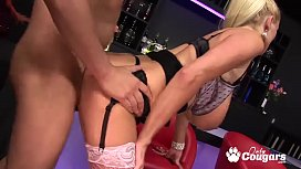 Three Horny Britsh Cougars...