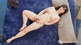 Chesty Yanks Raven Snow'_s Clit Flicking Action