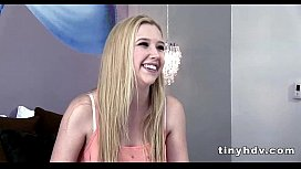 Real teen pussy streched Samantha Rone 2 42