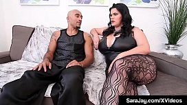 Submissive Sara Jay Fucks BBC King Noir With Angelina Castro