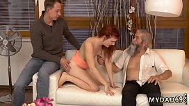 Mature old woman Unexpected experience with an older gentleman