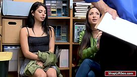 Shoplifting sisses fucked by...