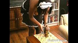 My maid gives handjob...